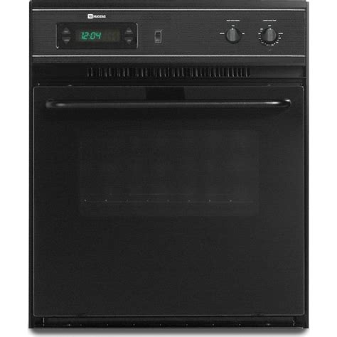 maytag cweacb  single electric wall oven   cu ft manual clean oven precision