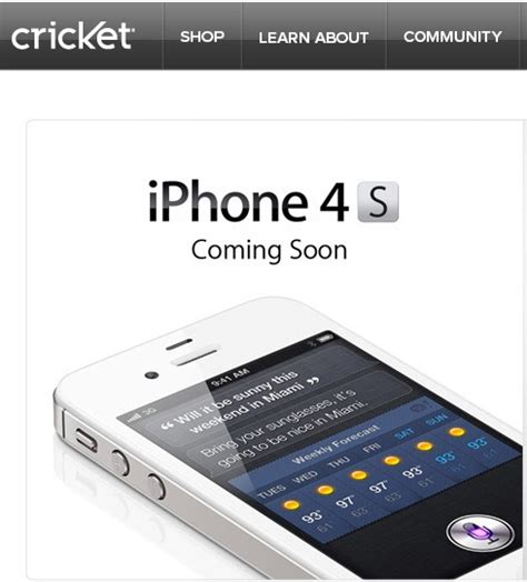 iphone cricket iphone coming to u s prepaid carrier cricket on june 22