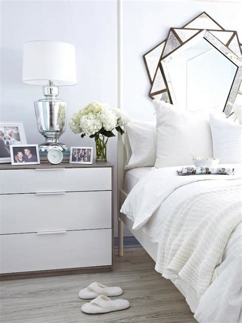 Ikea Nyvoll Dresser Grey by Cottage Bedroom