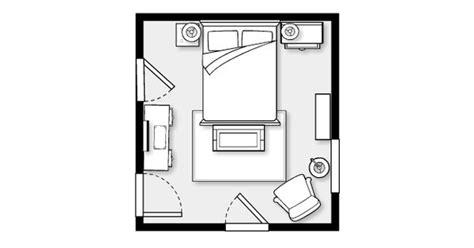 bedroom layout  urban barn   room