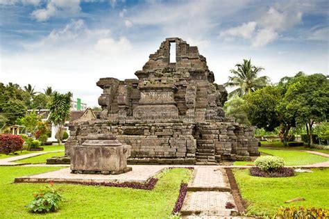 candi jago temple   malang  java indonesia