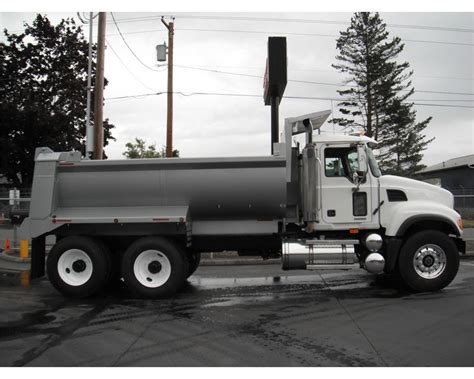 2007 mack granite cv713 heavy duty dump truck