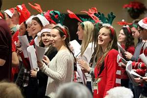 Ryan carolers spread good cheer to elderly residents ...