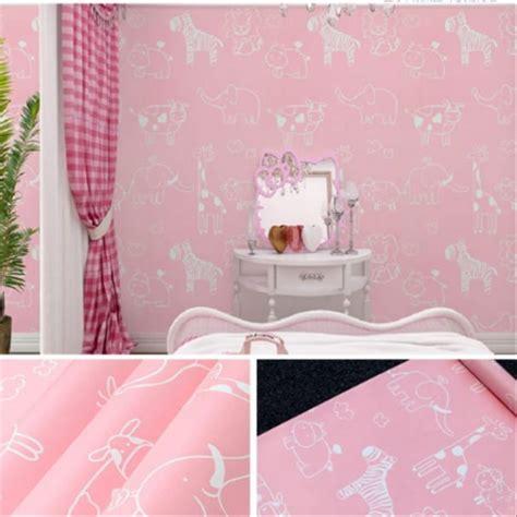 jual wallpaper dinding animal pink  lapak adam shop