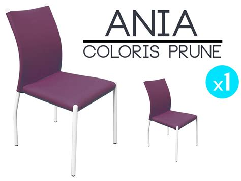 chaise prune chaise prune