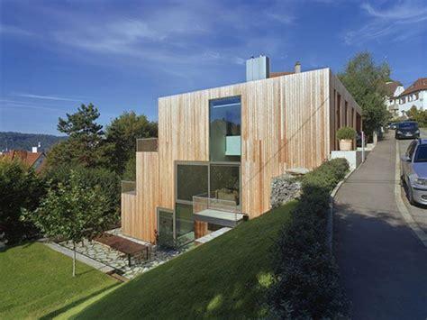 Moderne Häuser Innenarchitektur by Haus Am Hang By Mvrdv Modern Houses Haus Hanglage