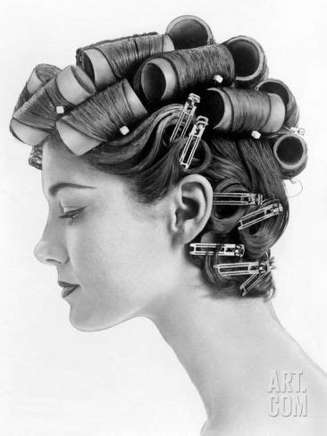 How To Create 50s Hairstyles For Hair by 1960s Bouffant Hair Styles Created With Big Rollers And