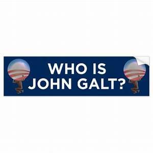 Who Is John Galt Bumper Sticker | Zazzle
