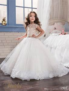 kids wedding dresses 2017 pentelei with cap sleeves and With kids wedding dress