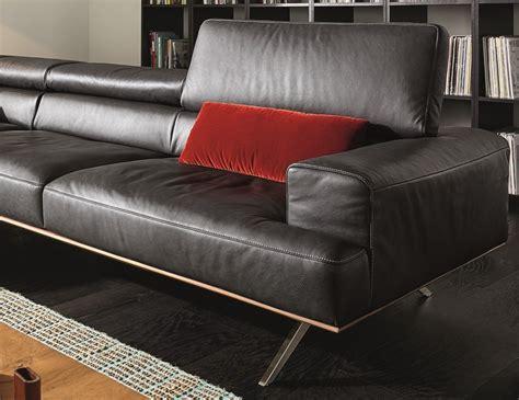 canapé d angle large assise canapé avec chaise longue temperant pm cuir ou tissu
