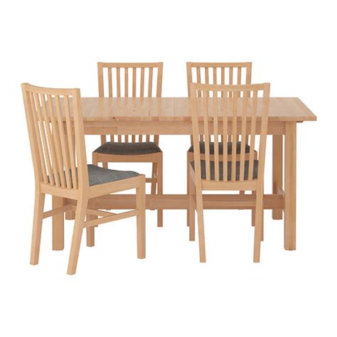 ikea kitchen table and chairs norden norrnäs table and 4 chairs ikea