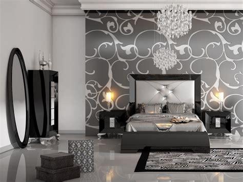 chambre noir deco chambre noir et argent visuel 4
