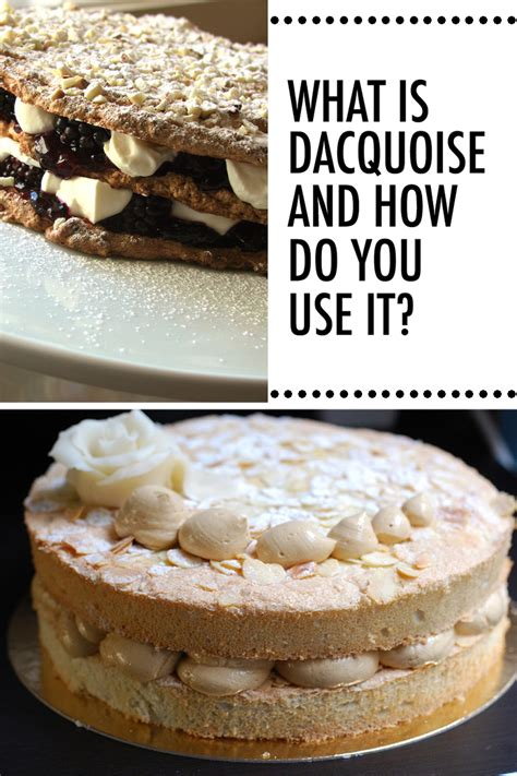 dessert    dacquoise     craftsy