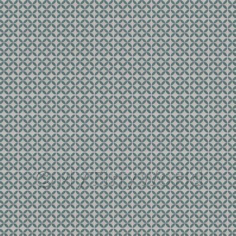 dolls house miniature floor tile sheets 1 12th blue