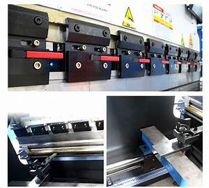 Wc67y 2500 E10 Press Brake  Bending Machine  Punch And