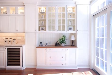 Beadboard Bookcase : Corner-utility-sink-kitchen-traditional-with-backsplash