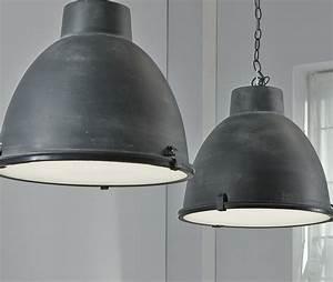 Suspension Luminaire Industriel : luminaire suspension mtal industriel sofamobili ~ Teatrodelosmanantiales.com Idées de Décoration