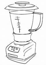 Appliances Coloring Pages sketch template