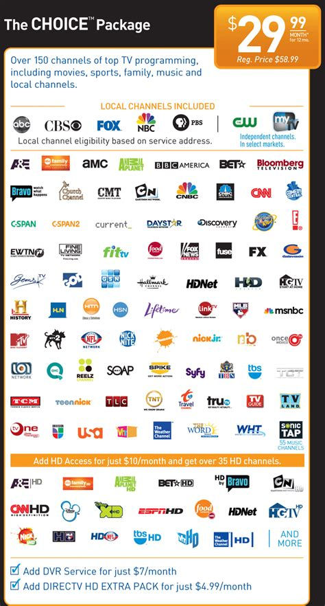 <b>Direct</b> <b>Tv</b> 150 <b>Channels</b>...