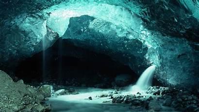Cave Ice Iceberg Nature Desktop Wallpapers Sunrise