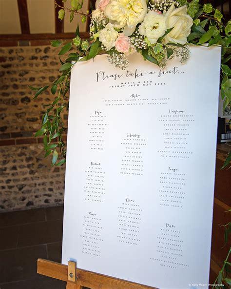 wedding table plan ideas upwaltham barns