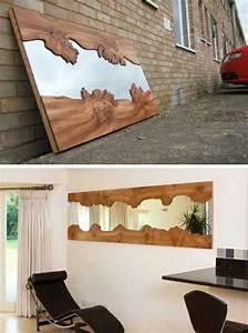 Spiegel Mit Ablage Holz : diy m bel ideen und vorschl ge die sie inspirieren k nnen ~ Markanthonyermac.com Haus und Dekorationen