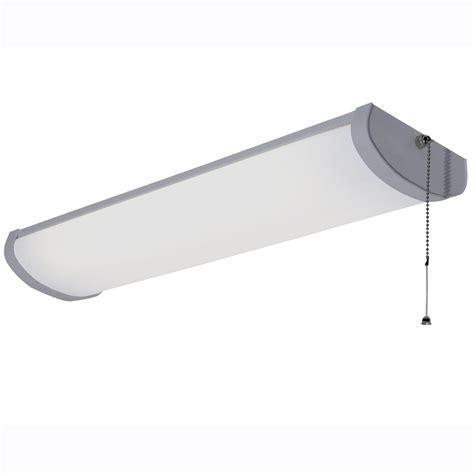 lowes fluorescent shop lights shop utilitech fluorescent shop light common 2 ft actual
