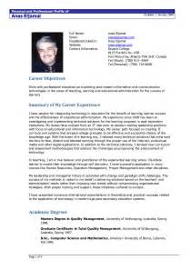 resume format exles documentation template design part 2