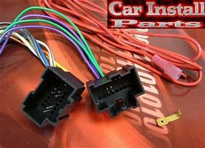 Chevy Radio Wire Harness Install Stereo Plug 2006
