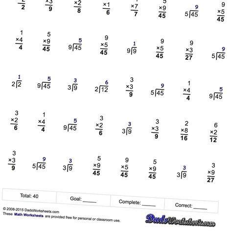 quick division worksheets multiplication division fact family math worksheets that are for either practice