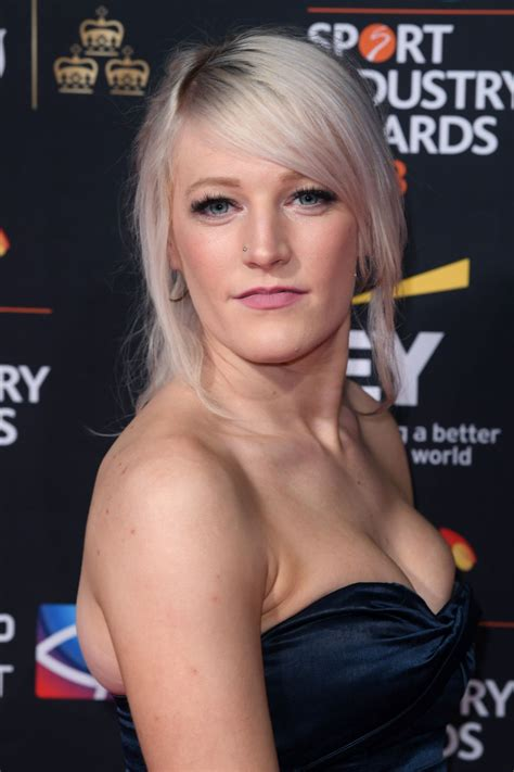 Elise Christie At The BT Sport Industry Awards, Battersea ...