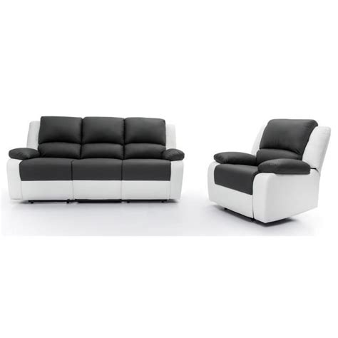 canape relax 3 places relax ensemble canapé relaxation 3 places fauteuil
