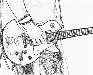 The Best Free Gibson Drawing Images  Download From 134
