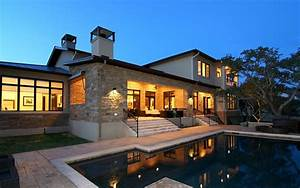 Luxury, Home, At, Night