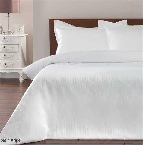 Black And White Single Duvet Cover by Satin Stripe Duvet Cover Bedding Sets Black White