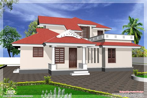 Design House Model by Kerala Model Home Design House Plans House Plans