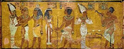 Tut King Tomb Tutankhamun Egyptian Wall Dynasty