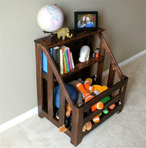 Bookcase Toybox by Turtles And Tails Bookshelf Toybox Combo Diy