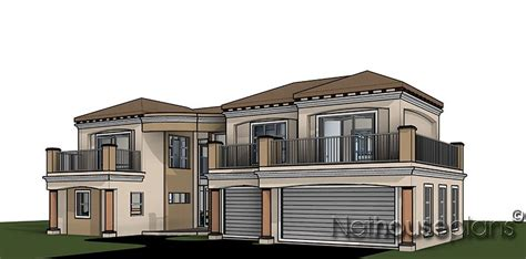 double storey house plan south african designs nethouseplansnethouseplans