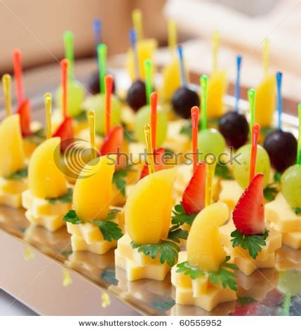 canapes fruit canapes cheese and fruit appetizers