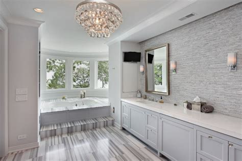 15 Gorgeous Transitional Bathroom Interior Designs You