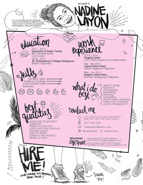 Creative Resumes For Artists by 50 Simple Creative Resume Cv Design Ideas Exles For 2017 Beyond