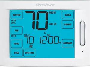 Touchscreen Model 6100 Thermostat