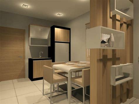 dry kitchen  dining area interior design