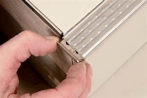 Angle Carrelage Sans Baguette : s1 carreler un escalier ext rieur en une journ e mise en oeuvre ~ Farleysfitness.com Idées de Décoration