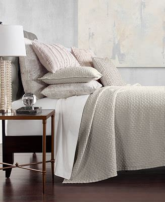 Macys Coverlets by Hotel Collection Speckle Cotton Quilted King Coverlet