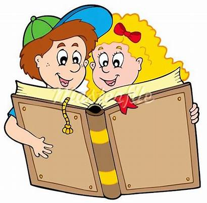 Clipart Reading Clip Books Children Advertisement