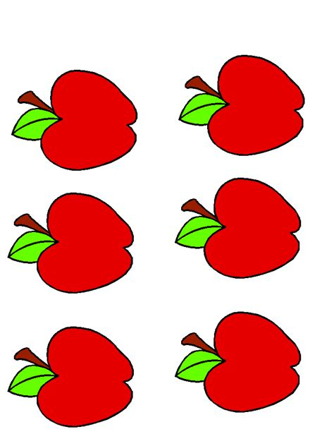 Free Apple Template, Download Free Clip Art, Free Clip Art ...