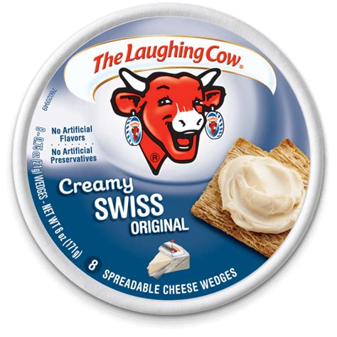 laughing cow cheese light swiss cheese wedges the laughing cow