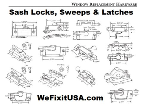 window hardware replacement parts sweep locks sash locks latches cam locks biltbest window
